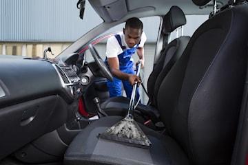 Klädseltvätt för din bil