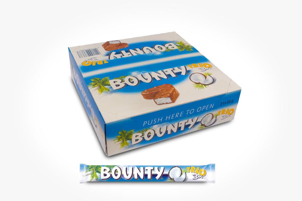Bounty Trio 21-pack á 85 g (1 av 1)