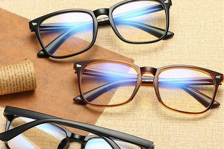 Glasögon med blåljusfilter unisex