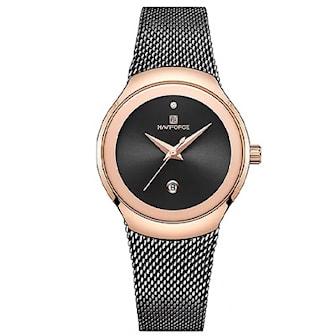 Svart, Naviforce 5004 Woman's elegant watch, Damklocka från Naviforce, ,