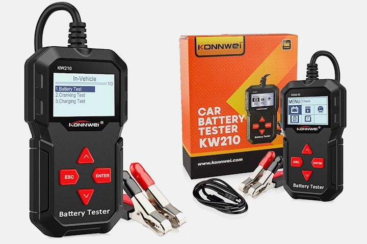 KW210 automatisk 12V bilbatteritestare
