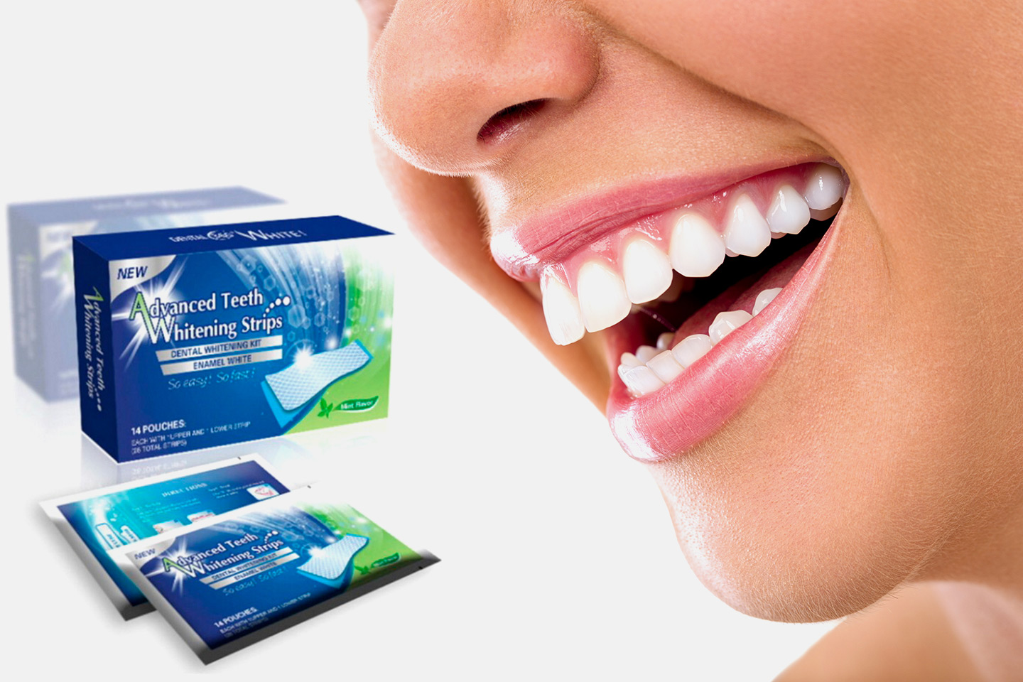 2-pack Whitening Strips (1 av 6)