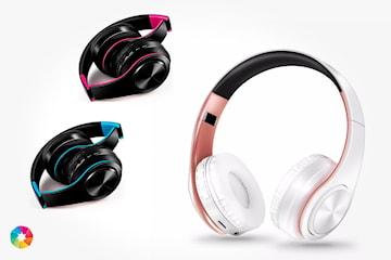 Trådløst headset med Bluetooth