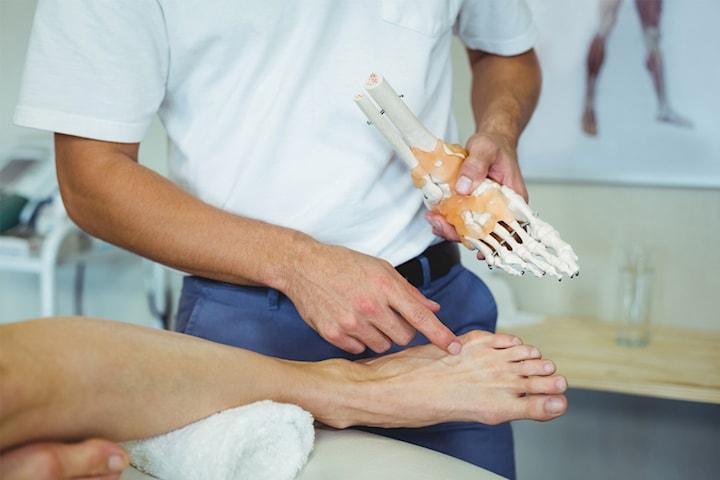 Ortopedisk fotanalys Full funktion