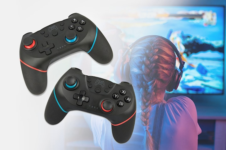 Håndkontroll kompatibel med Nintendo Switch