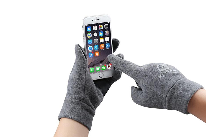 Skihansker med touchfingre