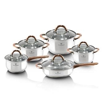 Koppar, 10 pcs cookware set, Blaumann Gourmet Line, Blaumann Gourmet Line köksset 10 delar, ,