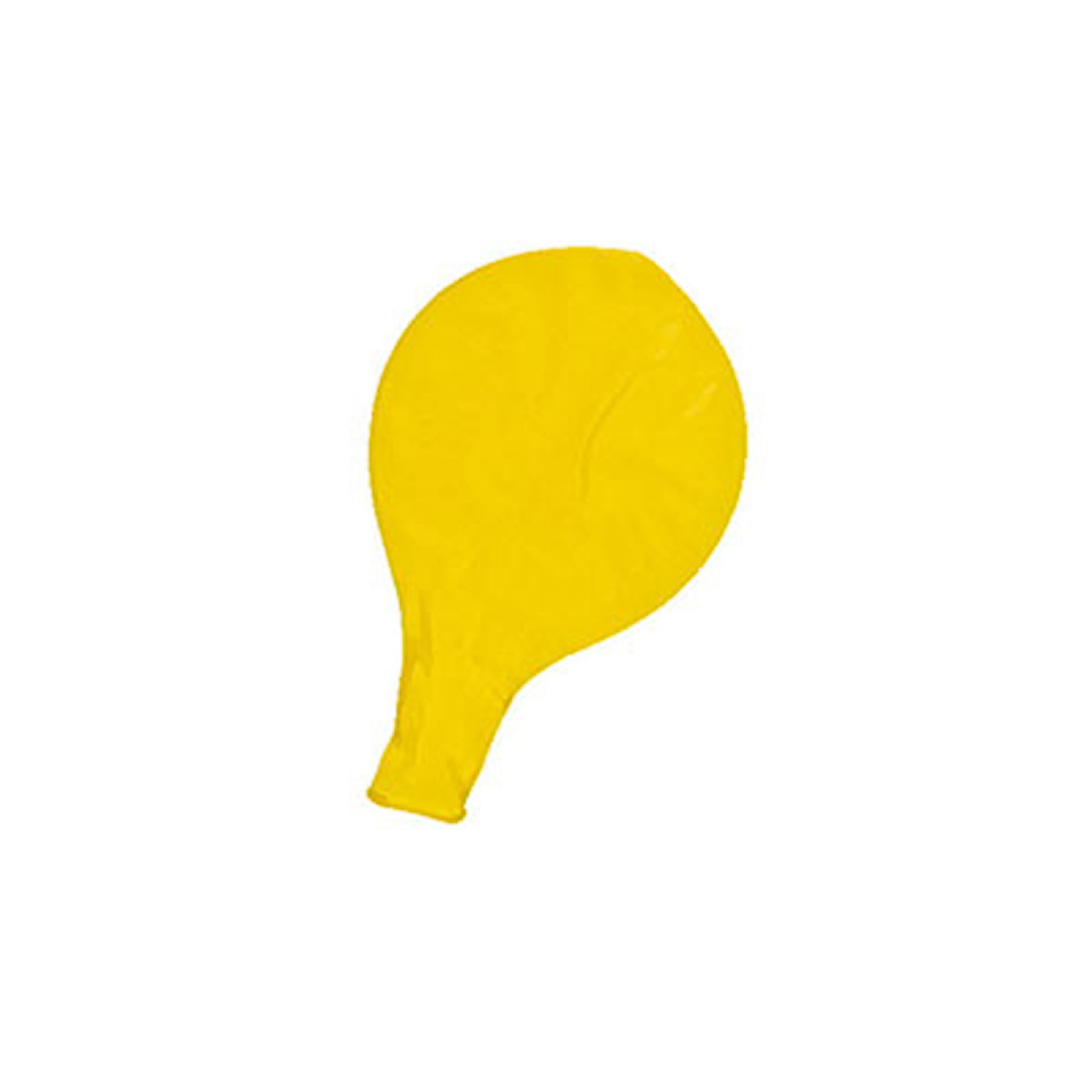 Gul, Giant Balloons, 12-Pcs, 12-pack jätteballonger, ,