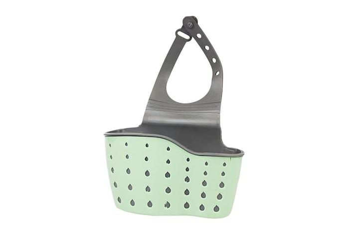 Smart förvaringskorg i plast till kök och badrum