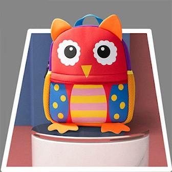 Owl, Kids Toddler Animal Backpack, Ryggsäck för barn, ,