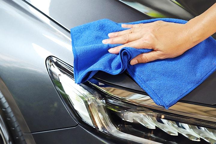 Biltvätt inkl. motortvätt och glasskydd