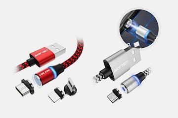 Magnetisk USB-laddare