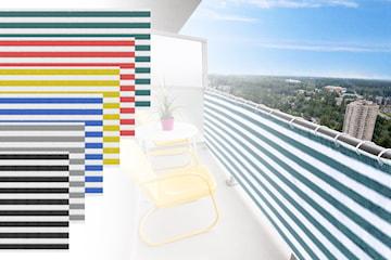 Innsynsbeskyttelse til balkong