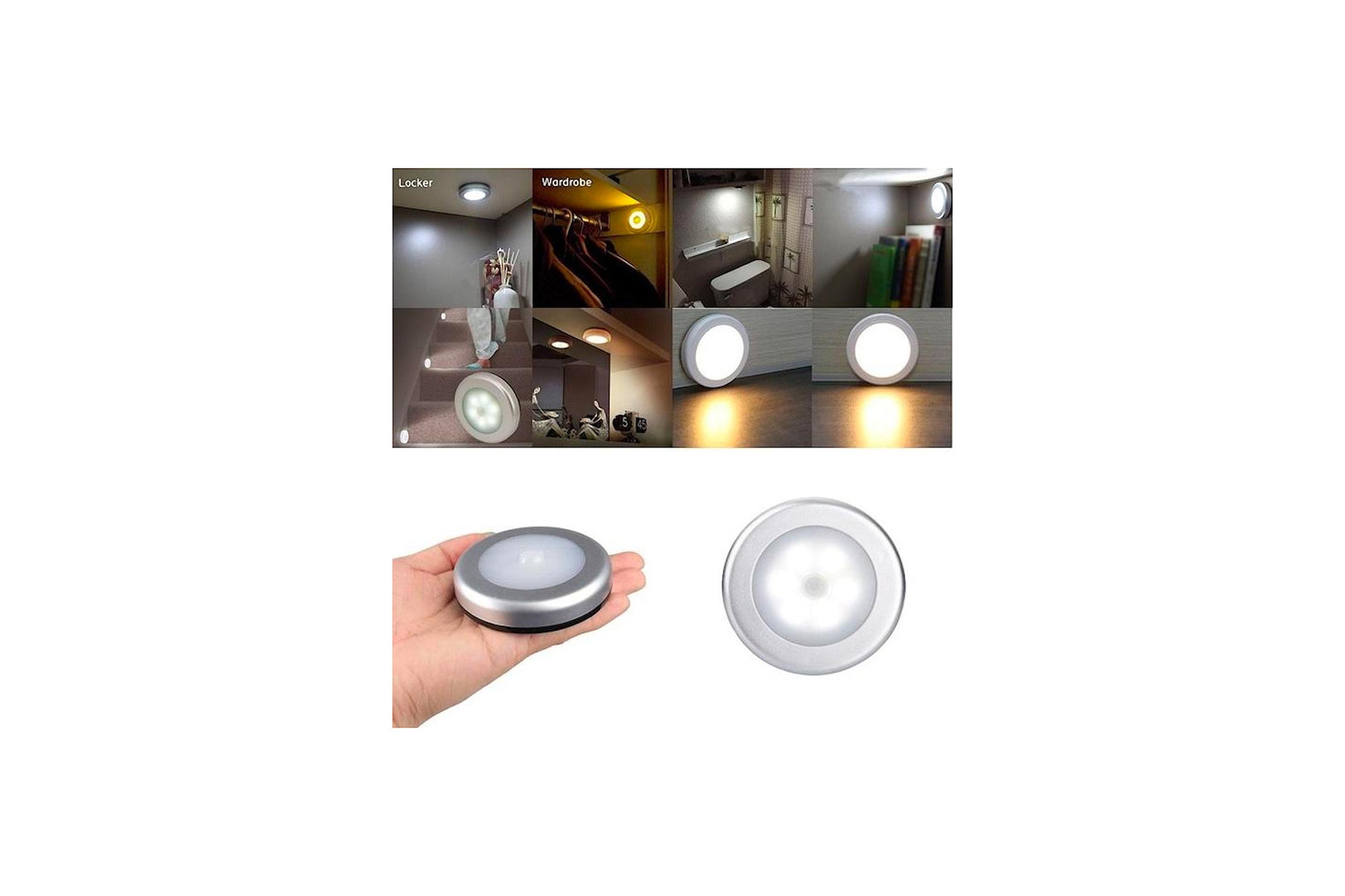 LED-lampa med rörelsedetektor