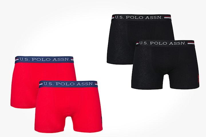 US Polo boxershorts 2-pack
