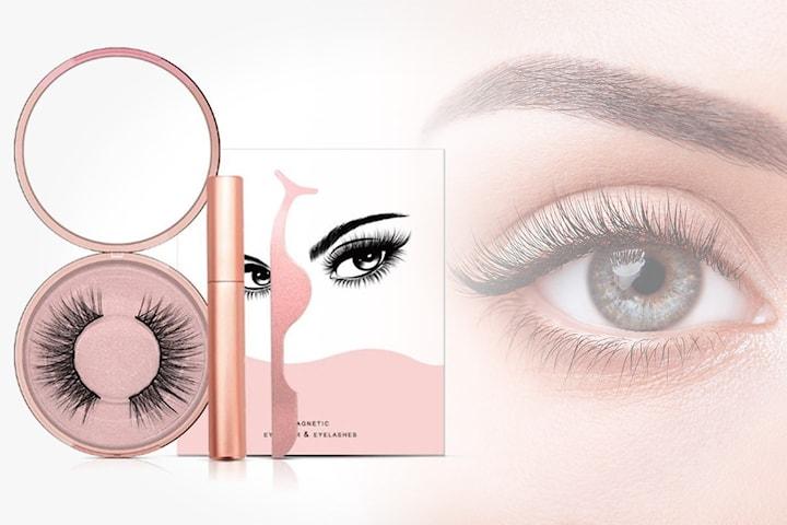Magnetisk eyeliner och lösfransar