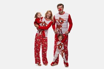 Matchende julepysj til familien