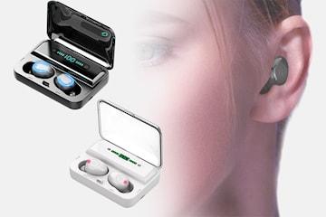 Bluetooth 5.0 Dual Call Power Sports-øretelefoner