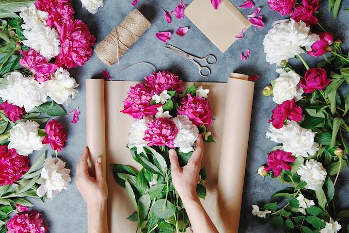 Presentkort värde 200 kr hos 3H Blommor