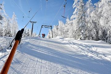 Fira jul, nyår eller mellandagarna på Hassela Ski Resort
