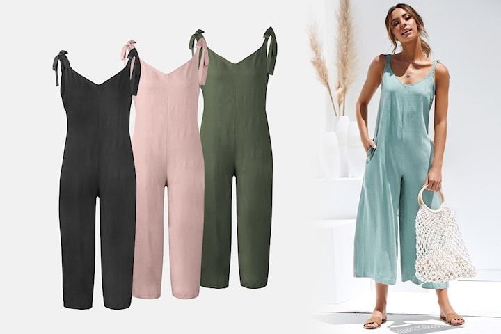 Jumpsuit loose fit