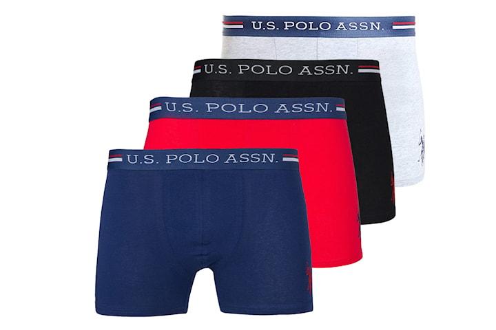 US Polo boxer 4-, 6- eller 8-pack