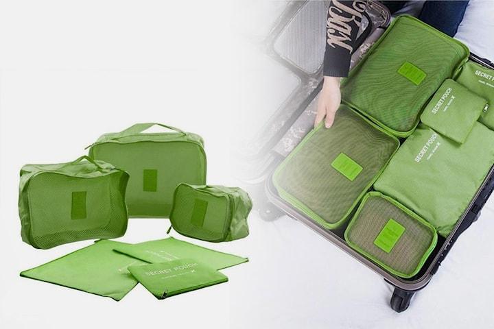6 x lagringsposer til koffert