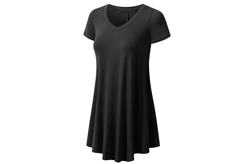 2-pack t-shirt i långmodell