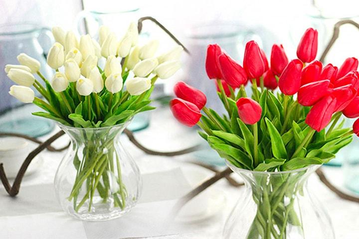 Kunstige tulipaner