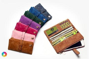 Lommebok i kunstig skinn