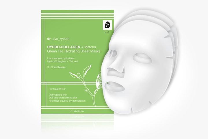 Sheet mask Hydro-Collagen Green Tea 3-pack