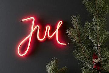 Markslöjd New York neonskylt jul