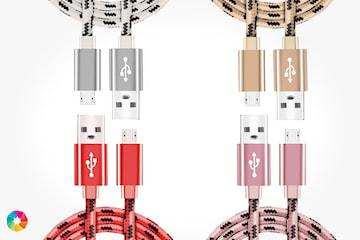 Flettet USB-kabel