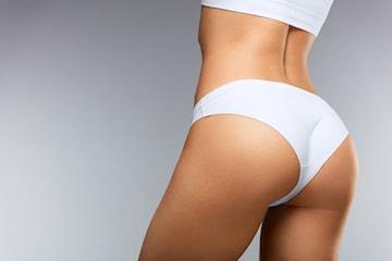 Brazillian bottom lift-pakke hos Beleza & Beauty