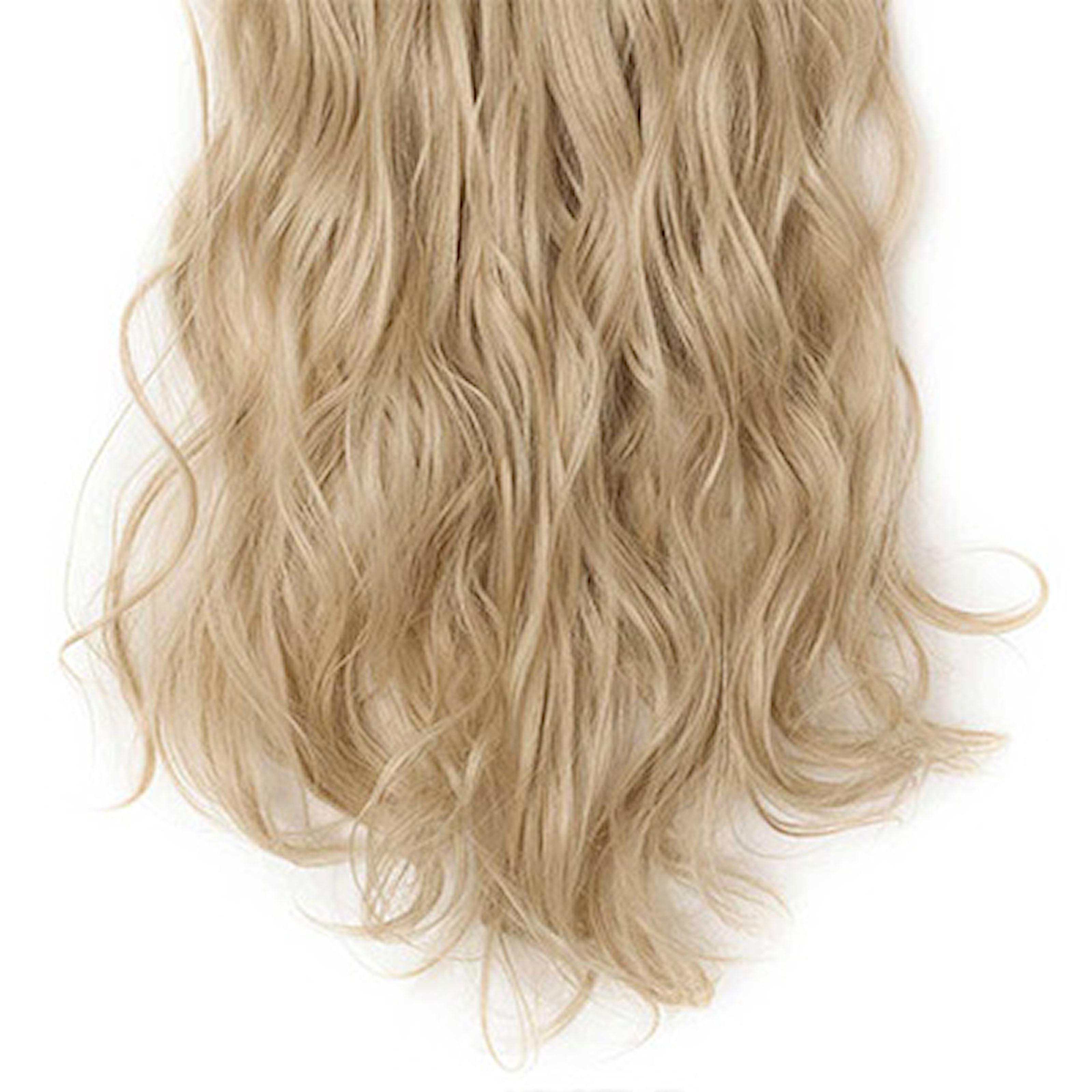 Askeblond, Curly Hair Extensions, Krøllete hair extensions, ,