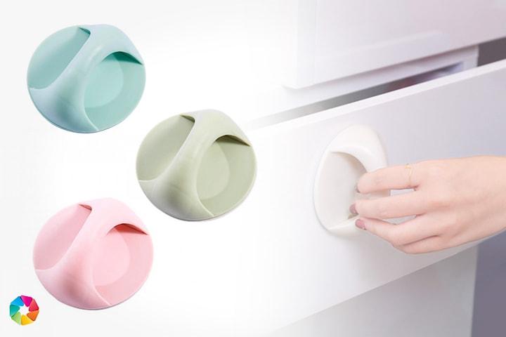 4-pack selvklebende håndtak til møbler