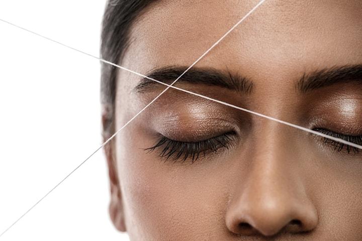 Formning och trådning av ögonbrynen