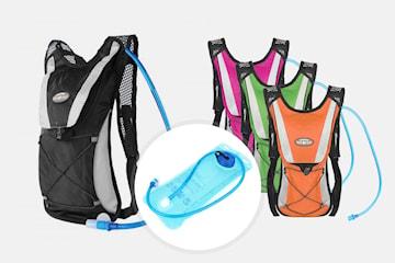 Hydro-pro ryggsäck med vattenbehållare