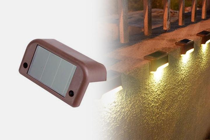 Solcellsdrivet trädgårdsljus 2- eller 4-pack