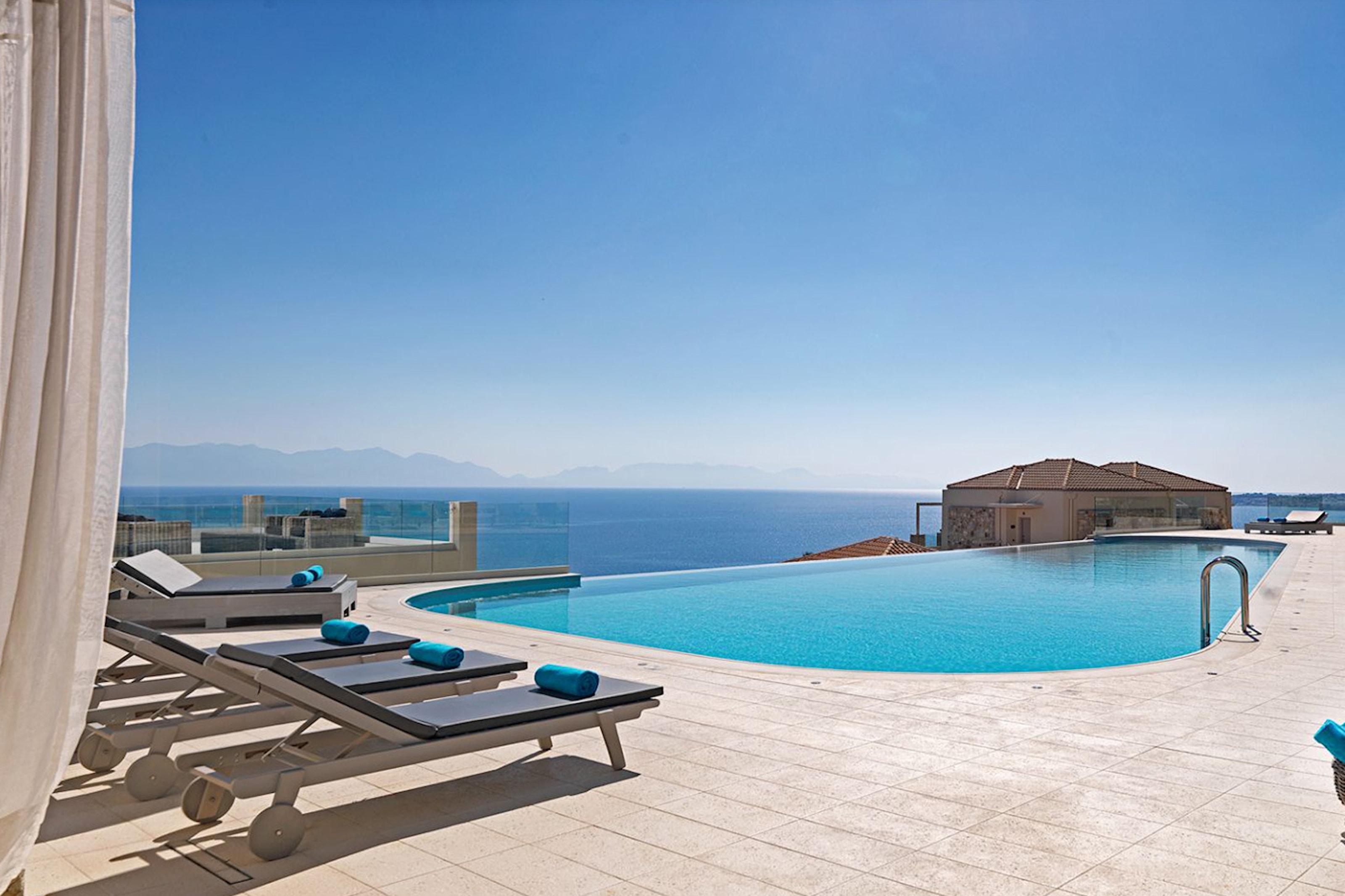 Camvillia resort på Grekland