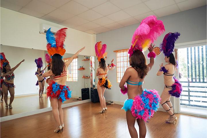 Lær å dans samba! Ta introduksjonskurs online med Jenny Gjerlow