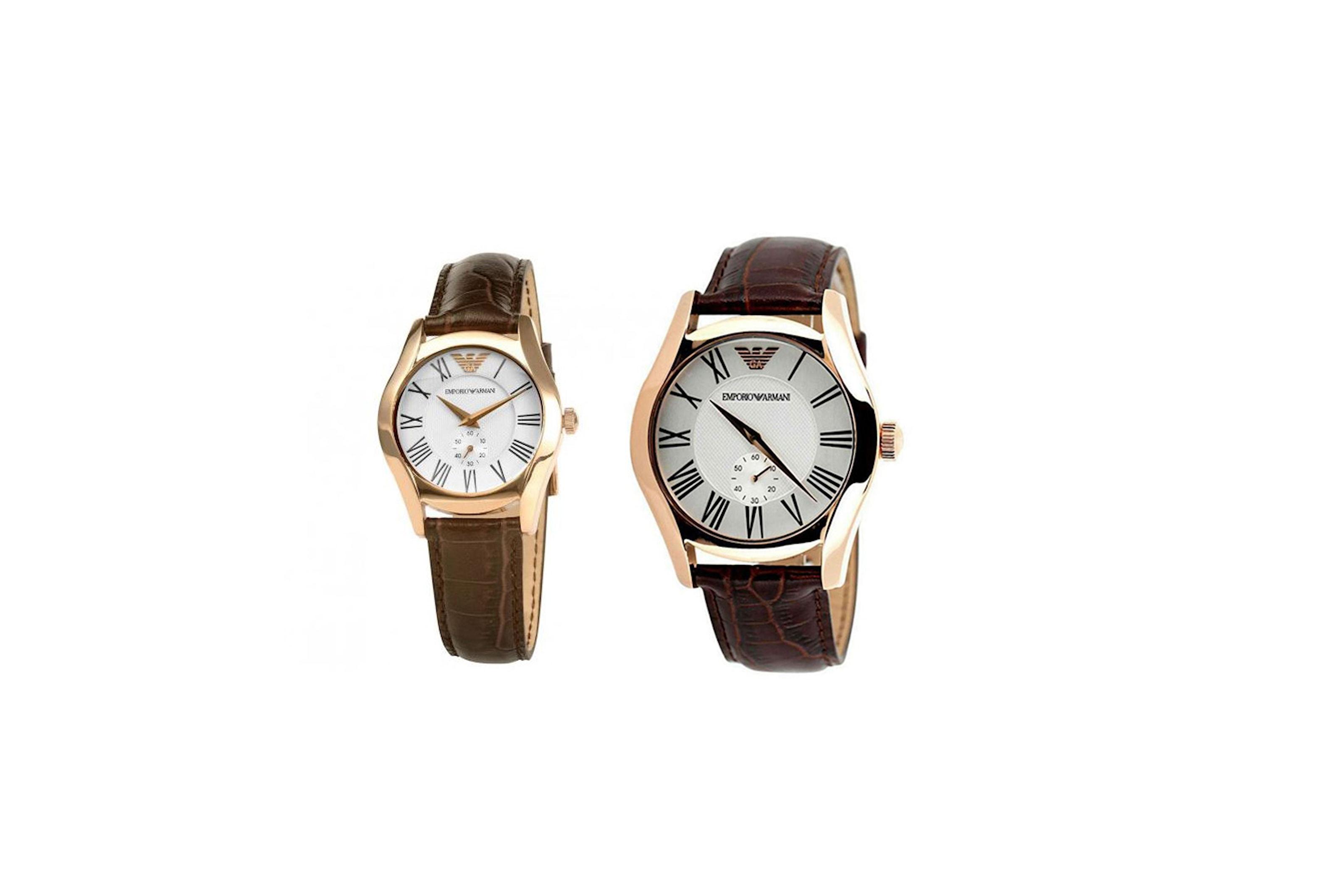 Klockor från Armani