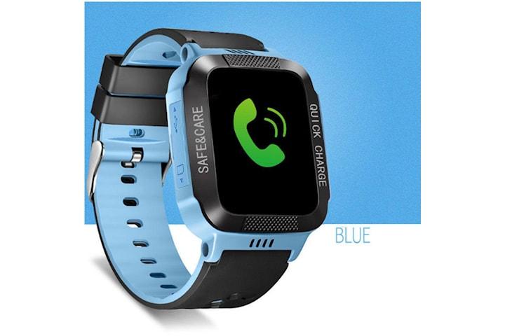 blå Barn smart smart armbandsur