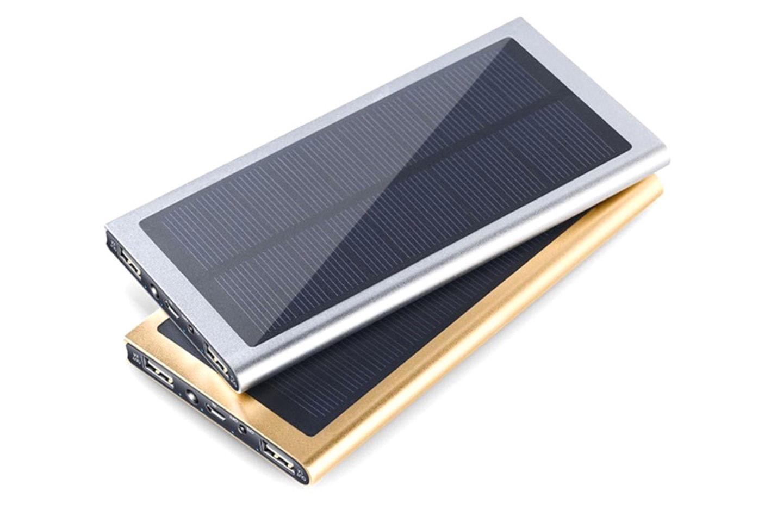 Powerbank med solceller