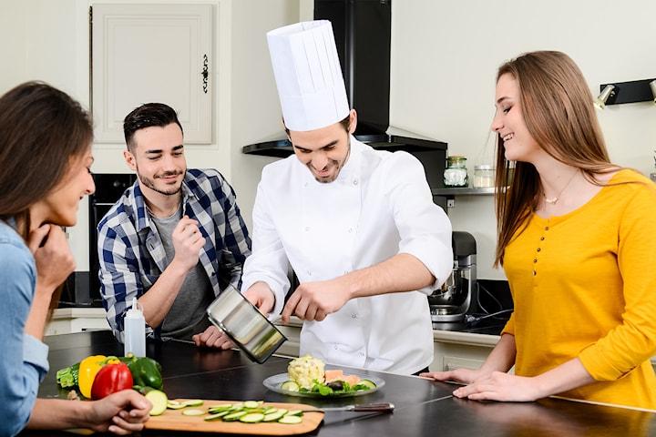 Kokkekurs hjemme hos deg med Chef Gouttebel