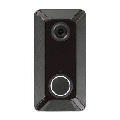 Svart, WIFI Doorbell, Dörrklocka med wifi och kamera,  (1 av 1)