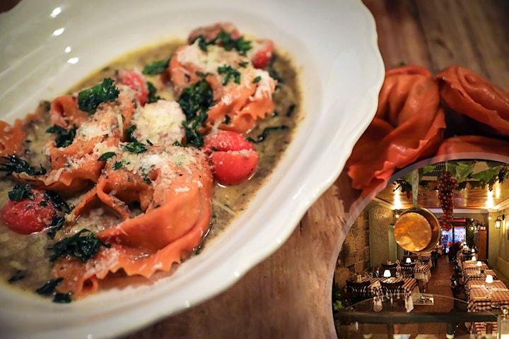 3-rätters middag på Michelangelo i Gamla Stan