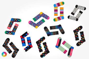 10-pack strumpor från Happy Socks