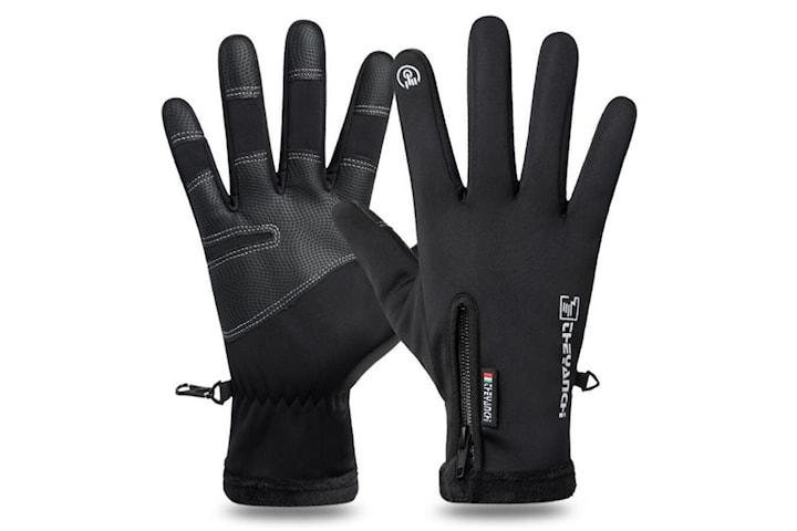 Varma handskar för touchscreen