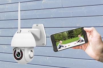 PTZ-KC23 övervakningskamera med wifi